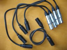 SEAT ALHAMBRA 2.0i (96-00) NEW IGNITION LEADS SET - OEF768